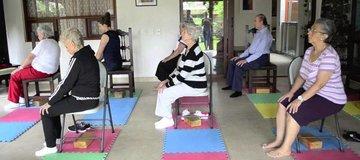 Yoga pour le troisième âge